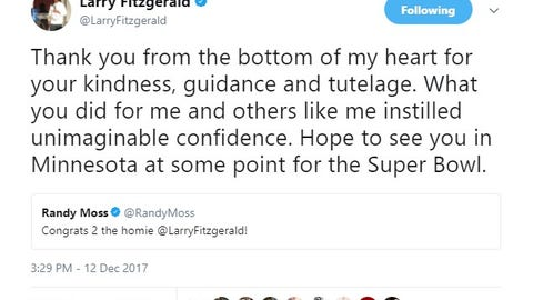 Larry Fitzgerald, Arizona Cardinals receiver/Minnesota native