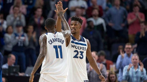Timberwolves maul the Cavs in the National Basketball Association