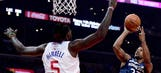 Wolves hold on for 113-107 win over Clippers