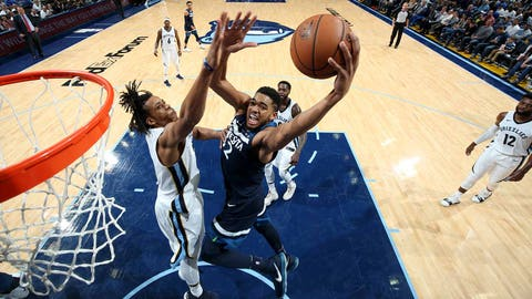 Timberwolves come up woefully short in home loss to league's worst team