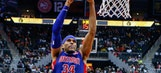 Pistons end seven-game slide with 105-91 victory over Hawks