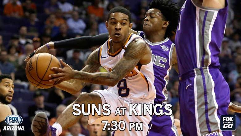 Preview: Suns at Kings, 7:30 p.m., FOX Sports Arizona