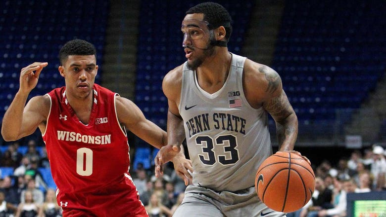 Badgers survive late surge, top Penn State 64-63
