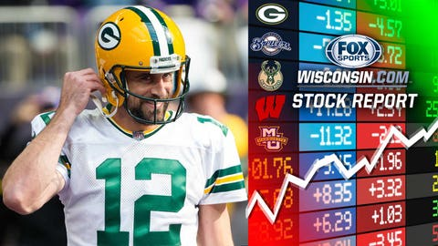 Packers' playoff chances (↑ UP)