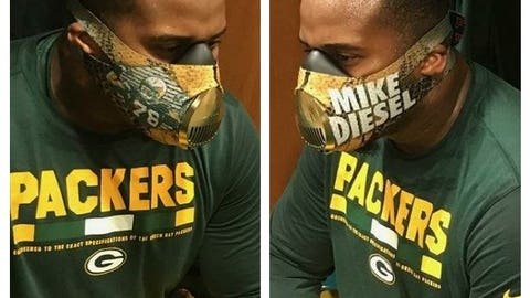 Mike Daniels, Packers defensive tackle