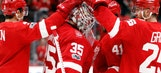 Red Wings end skid with 5-1 victory over Jets