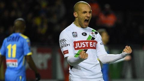 French midfielder Yohan Croizet