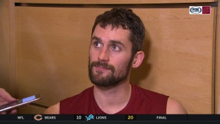 Kevin Love on Ty Lue: 'We love playing for him'