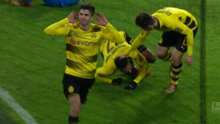 Christian Pulisic nets game-winning goal against Hoffenheim | 2017-18 Bundesliga Highlights