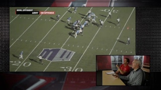 Rocky Long breaks down Army in the film room