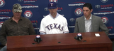 WATCH: Texas Rangers introduce new pitcher Mike Minor