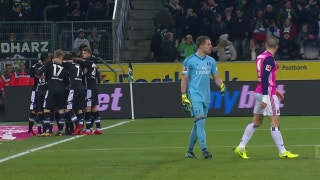 Thorgan Hazard puts Gladbach in front vs. Hamburg | 2017-18 Bundesliga Highlights