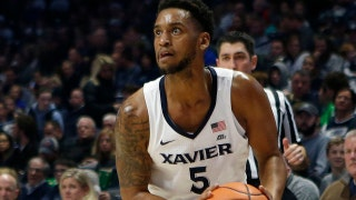 Trevon Bluiett drains the go-ahead jumper in No. 10 Xavier's comeback win over East Tennessee State, 68-66