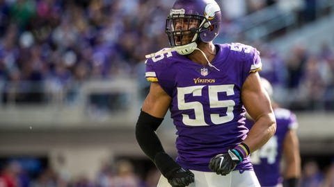 Jets to sign former Vikings Pro Bowl LB Anthony Barr