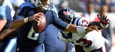 Texans drop divisional game to Titans 24-13