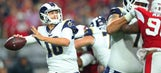 Rams clinch their first winning season since 2003 with 42-16 win over Cardinals
