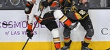 Golden Knights defeat Ducks in shootout