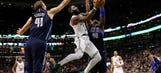 Irving, Celtics earn 97-90 comeback win over Mavericks