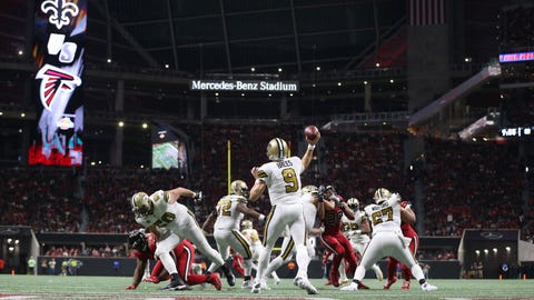 NFL: New Orleans Saints at Atlanta Falcons
