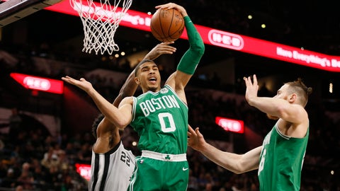 NBA: Boston Celtics at San Antonio Spurs