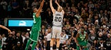 Ginobili game-winner leads Spurs past Celtics