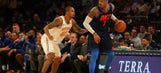 Knicks shut out Anthony in 2nd half, beat Thunder 111-96