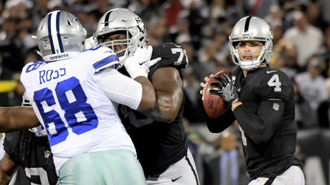 NFL: Dallas Cowboys at Oakland Raiders