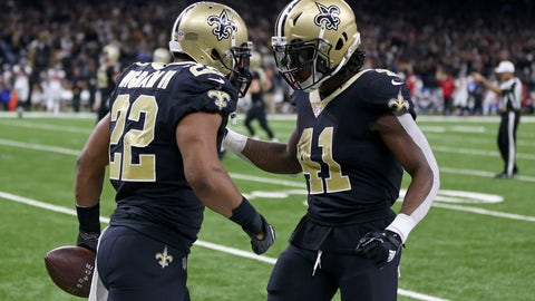 Saints clinch playoff berth, beat Falcons
