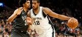 Leonard, Aldridge lead healthy Spurs past Nets, 109-97