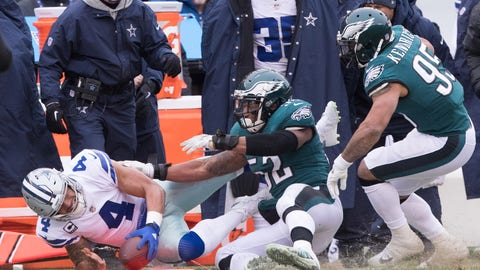 NFL: Dallas Cowboys at Philadelphia Eagles