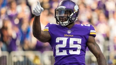 Latavius Murray, Vikings running back (↑ UP)