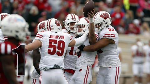 Badgers go 12-0 in regular season, reach No. 4 in playoff rankings