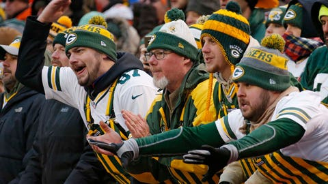 Many angry Packers fans (↑ UP)