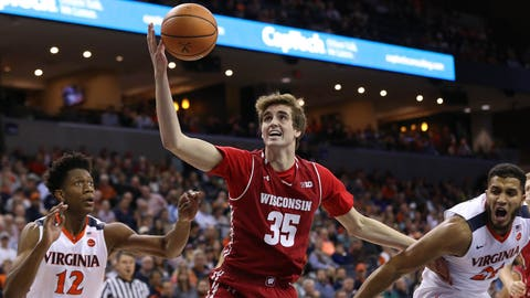 Nate Reuvers, Badgers forward (⬆ UP)