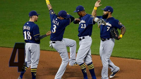 Brewers remain in playoff hunt until second-to-last day of season