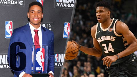 Malcolm Brogdon wins Rookie of the Year; Giannis named most improved