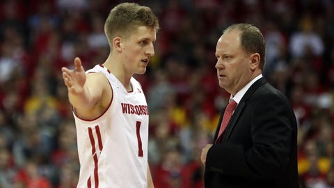 Badgers' NCAA tournament streak (↓ DOWN)
