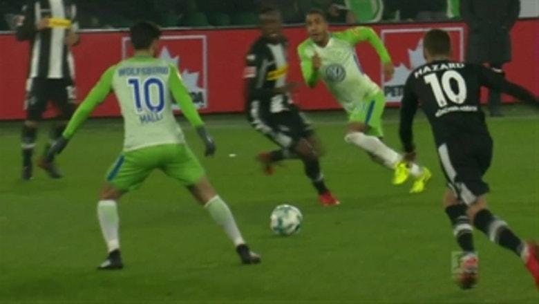 VfL Wolfsburg vs. Monchengladbach | 2017-18 Bundesliga Highlights
