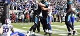 Jaguars lean on defense to best Bills in AFC wild card game