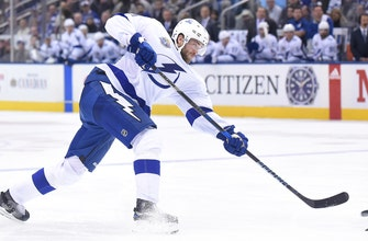 Lightning to be without star defenseman Victor Hedman for 3-6 weeks