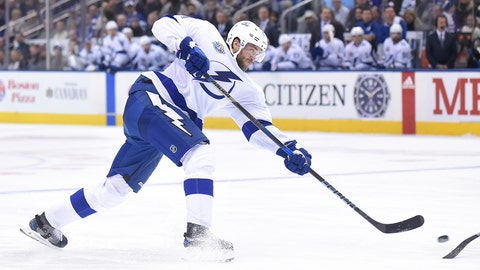 Bolts' Victor Hedman out 3-6 weeks with lower body injury