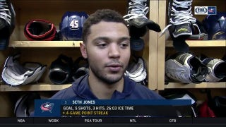 Despite skid, Seth Jones confident Blue Jackets can get it done