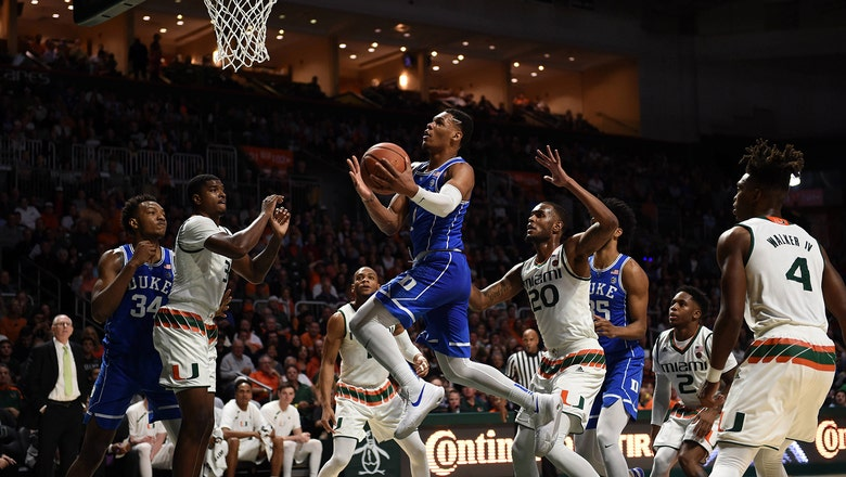 Miami watches late lead slip away in home loss to Duke