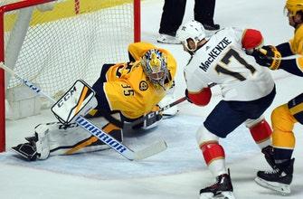 Panthers lose tough road matchup to Predators