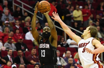 Short-handed Heat hang in Houston but finish road trip with loss to Rockets