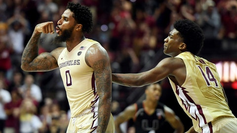 Florida State hoops outlasts Miami in high scoring, overtime affair