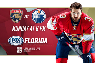 Preview: Panthers begin five-game Canada swing in Edmonton