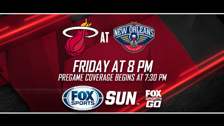 Preview: Heat visit Pelicans in matchup of teams fighting for playoff spots