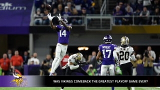 Was the Saints-Vikings game the best playoff game ever?