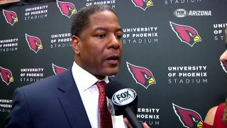 Introducing new Cardinals coach Steve Wilks